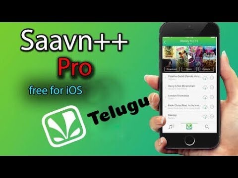 how To Get Saavn Pro for Any iPhone for free in Telugu.
