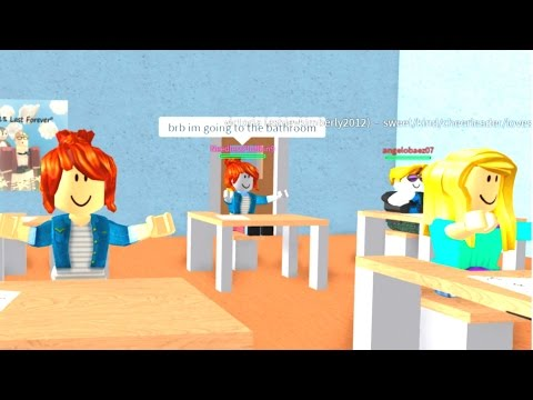 ROBLOX HIGH SCHOOL DRAMA HIGHSCHOOL GIRLFRIEND IN ROBLOX!