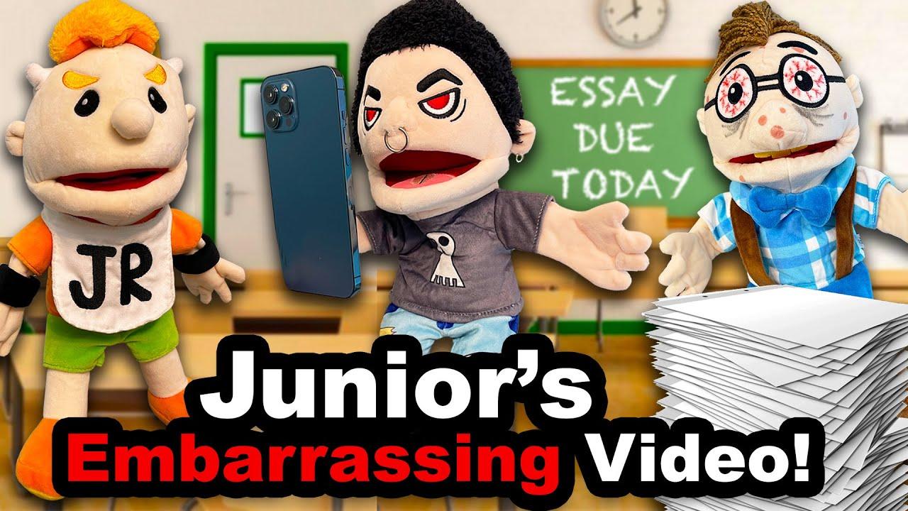 SML Movie: Junior's Embarrassing Video!