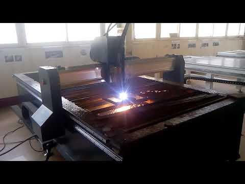 Plasma machine to cut thick steel plate
