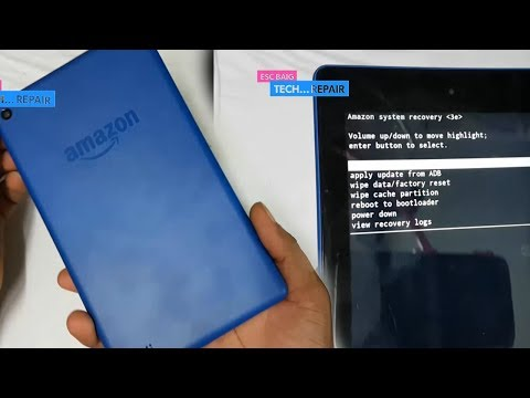 Amazon Fire 7'' Tab Hard Reset || Password Reset || amazon fire tab factory reset