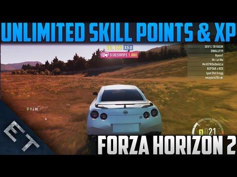 Forza Horizon 2 - Unlimited XP & Skill Points Glitch! (Forza Horizon 2 Glitches)