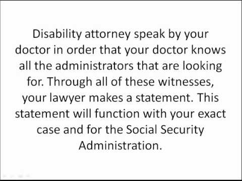 Selecting a Disability Attorney