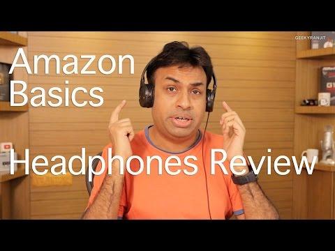 Amazon Basic On-Ear Headphones Review - Best Budget Headphones?