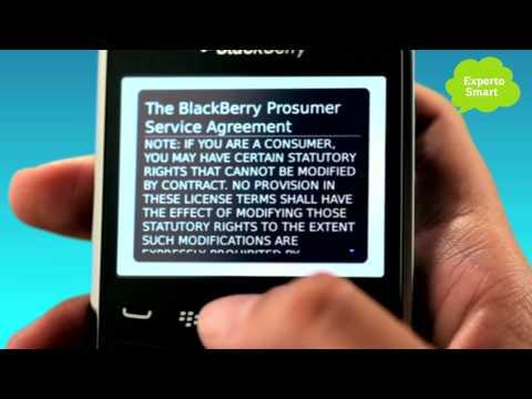 BlackBerry 9320 ó 9360 - Cómo configurar el Blackberry Messenger