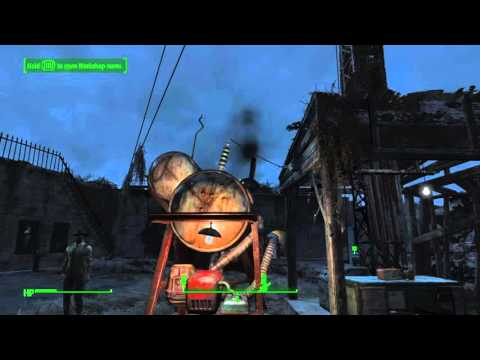 Fallout 4 Taking Independence Power Up The Radio Transmitter