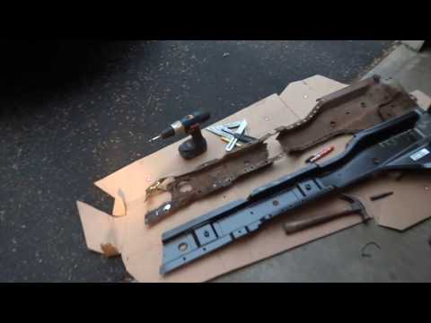 Replacing Rotted Jeep Wrangler Body Mounts/Torque Box/Floor Support