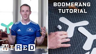 How To Make And Throw An Indoor Boomerang WIRED
