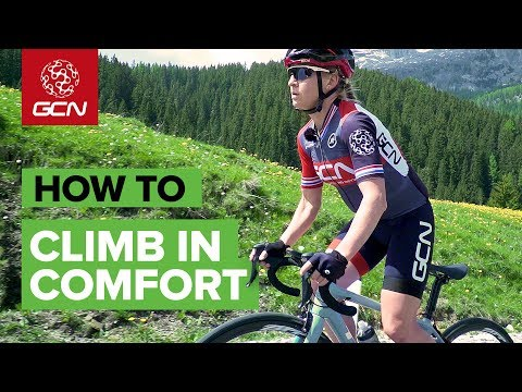 How To Stay Comfortable On Long Climbs
