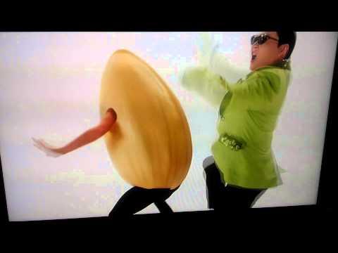 Gangnam style comercial