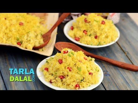 Amiri Khaman/ Quick and Simple Gujarati Sev Khamani Recipe by Tarla Dalal
