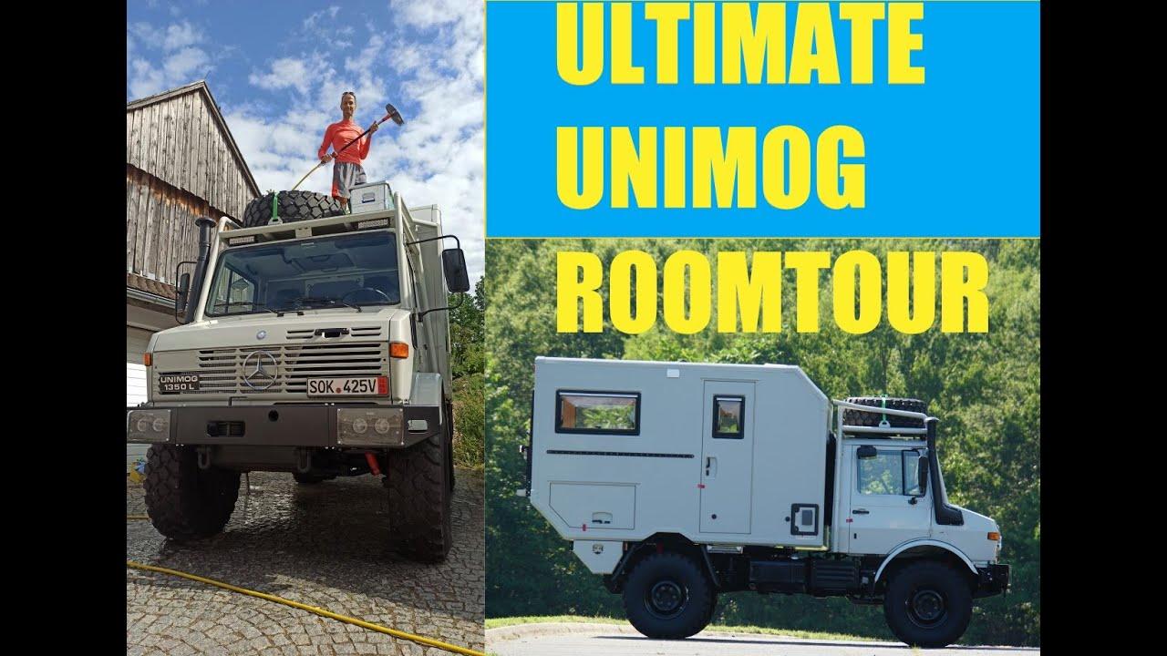 Unimog Fire Truck Conversion Part 3 ULTIMATE Room-Tour