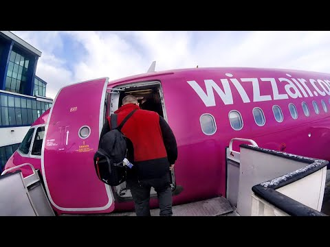 WIZZ AIR, Central Europe's Biggest Budget Airline - A320, Katowice - Stockholm/Skavsta