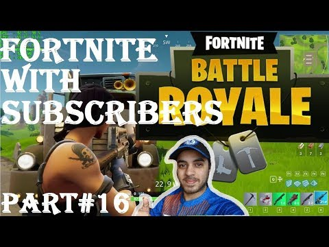 FORTNITE WITH SUBSCRIBERS HINDI part 16 Ps4
