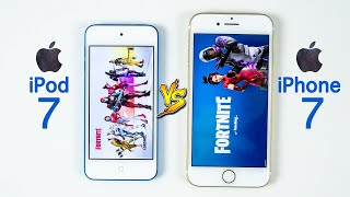 Download iPod Touch 7 vs iPhone 7 SPEED TEST - Same Chip, Different Results! Video