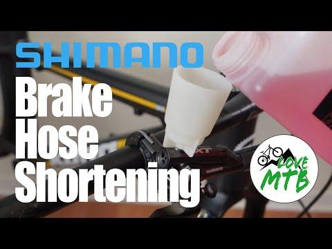 Shimano Disc Brakes - How-To Shorten Hoses or Quick Bleed