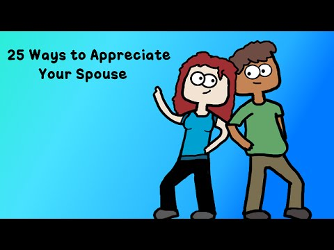 25 Ways to Appreciate Your Spouse (Episode 15)