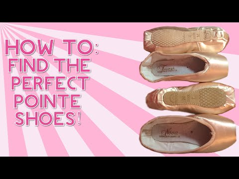 HOW TO: Find The Perfect Pointe Shoes! Pointe Shoe Fitting Plus Grishko Info