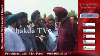Navjot Singh Sidhu makes surprise inspection, Suspends SDO for Negligent