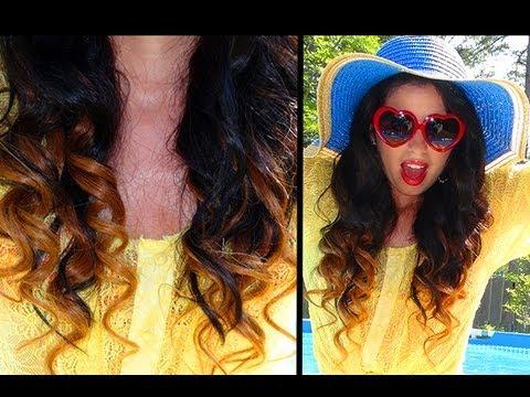 5 Minute Ombre Hair: No Bleach or Dye!