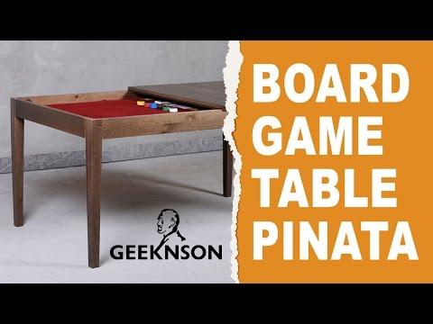 Board game table Pinata by Geeknson
