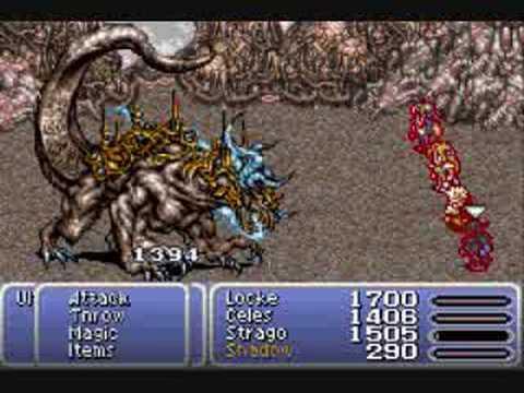 Final Fantasy VI-Ultima Weapon-Boss Battle #21