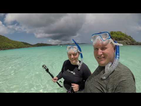 St John Trunk Bay Snorkeling - Rough Edit