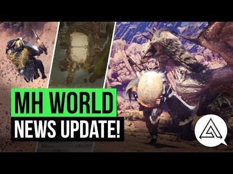 Monster Hunter World News | New Mantles, Arena Quests, Elder Dragons & More!