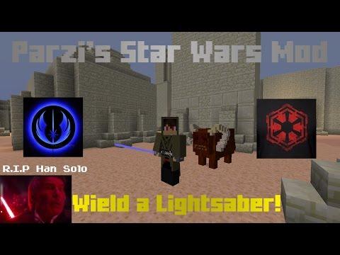 Lightsabers! - Parzi's Star Wars Mod