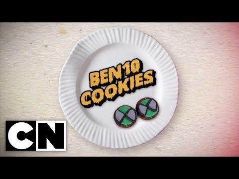 How to: Ben 10 Cookies   Cartoon Network