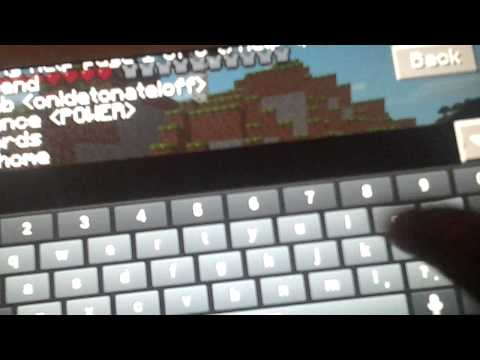 Minecraft pe warp mode