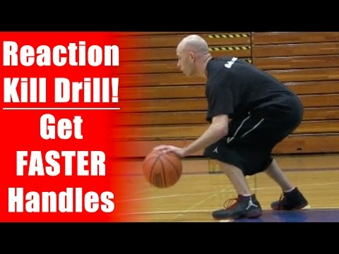 Basketball Drills: Kill Dribble - Get Crazy Handles & Ball Control!