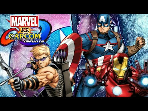 Marvel Vs Capcom: Infinite The Avengers Character Dialogue and End Battle Quotes Part 1
