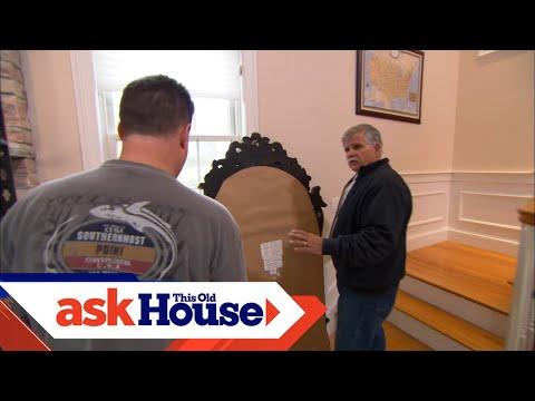 How to Hang a Heavy Mirror on Masonry
