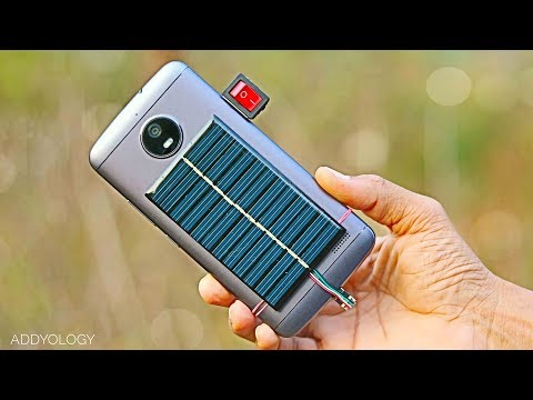 How to Make Solar Charger (Emergency Life Hack)