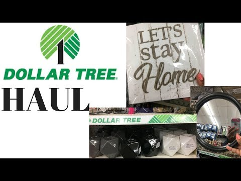 Large Dollar Tree Haul ~ End of March