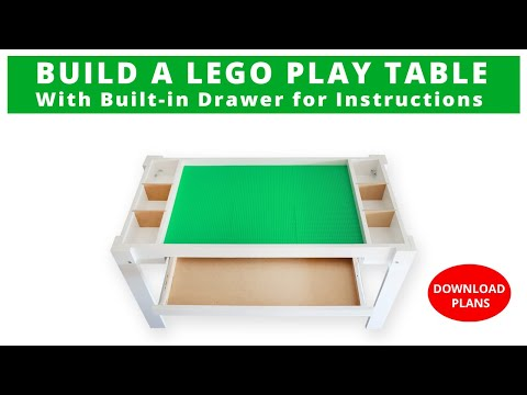 How to Build a Lego Table DIY Project | Woodworking | Rocker Plywood Challenge
