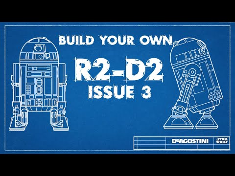 Build your own R2D2 - issue 3
