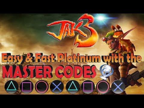 Jak 3 Platinum with Debug Mode