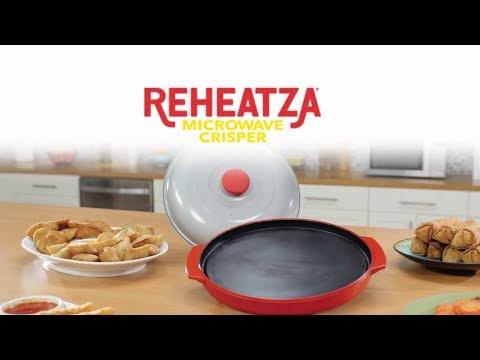Reheatza Microwave Crisper Review