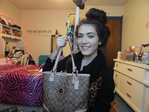 What's In My BAG: Coach Bag ♥♥