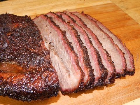 Wet Aged Smoked Brisket - Traeger Grill