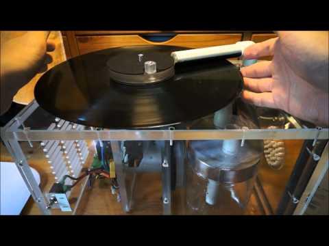 DIY Vacuum Record Cleaning Machine