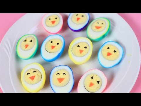 Easter Rainbow Eggs