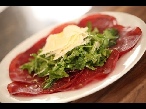 Kelly's Bresaola with Arugula and Parmesan