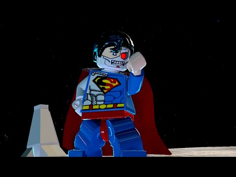 LEGO Batman 3: Beyond Gotham - Cyborg Superman Gameplay and Unlock Location