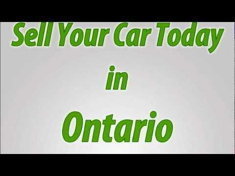 Sell A Car in Ontario