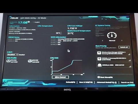 ASUS H110M-K BIOS update