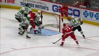 Bishop gets caught out of his net allowing Daley to score