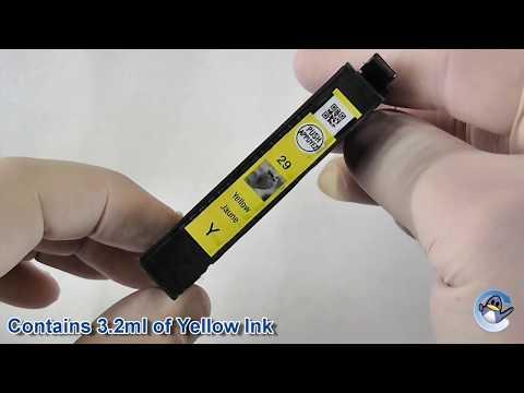 Inside Epson 29 Yellow Strawberry Ink Cartridge (C13T29844010)